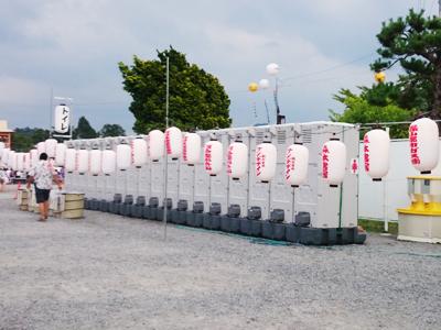 でかんしょ祭[仮設トイレ TU-V, 手洗いユニット HW-12]